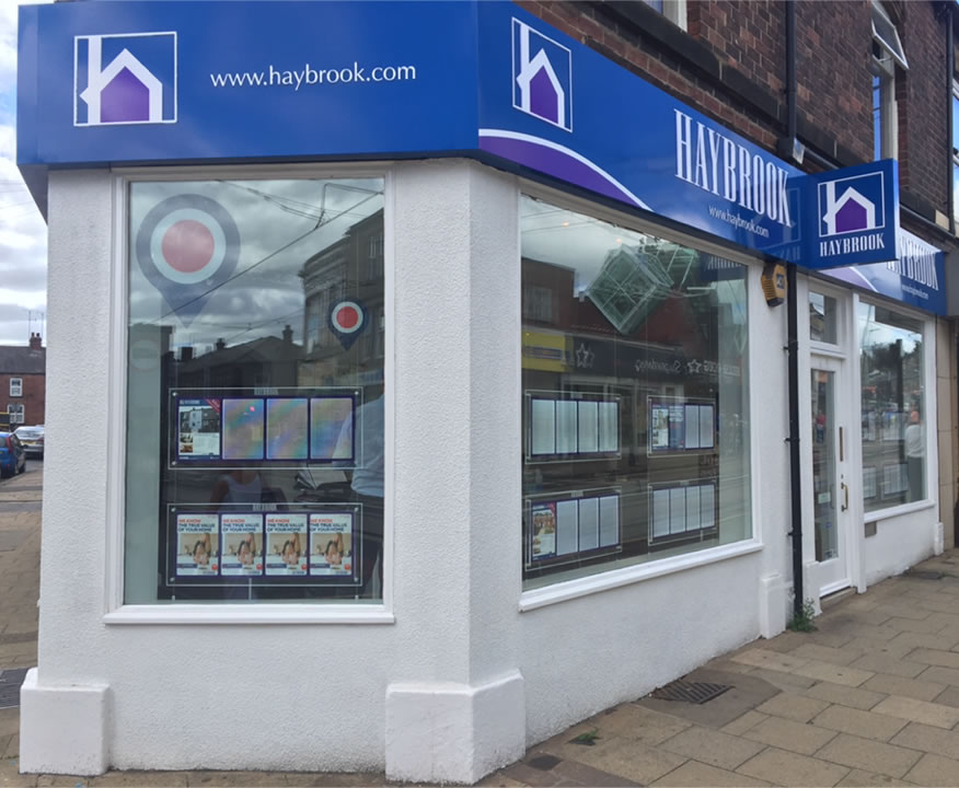 Haybrook Estate Agent Shop Fit